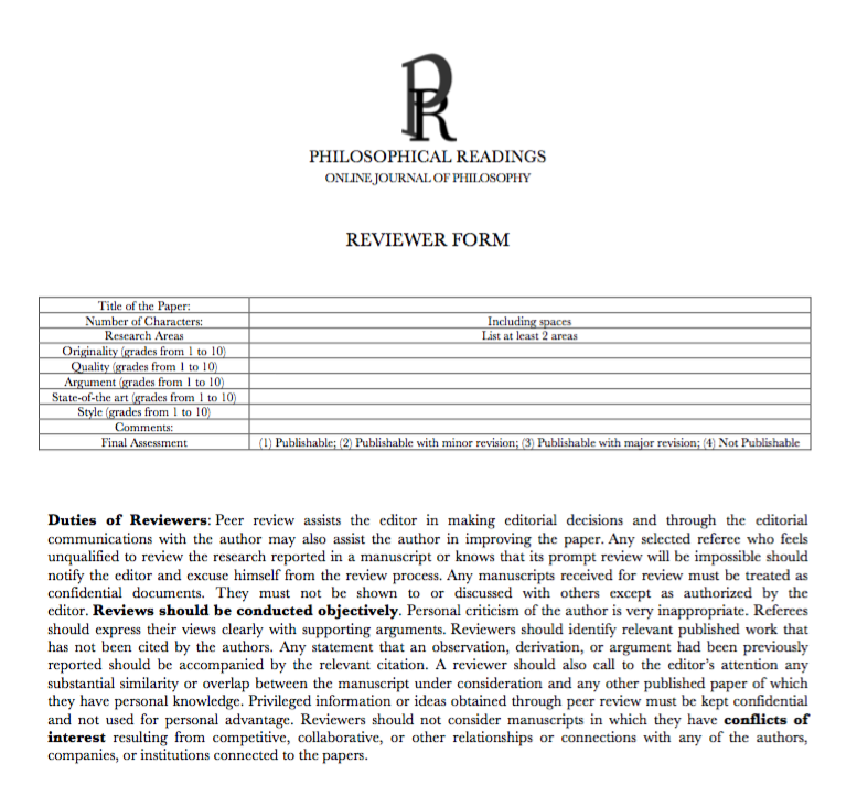 philosophical papers journal Philosophical papers philosophical papers is a generalist journal of philosophy edited in the department of philosophy at rhodes university the journal appears.